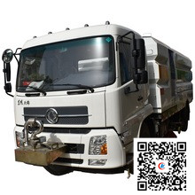 Dongfeng 10000 liters fecal suction tank truck 18