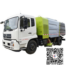 Dongfeng 10000 liters fecal suction tank truck 19