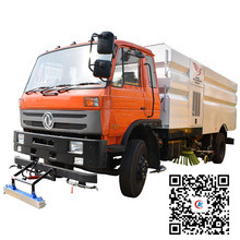 Dongfeng 10000 liters fecal suction tank truck 29