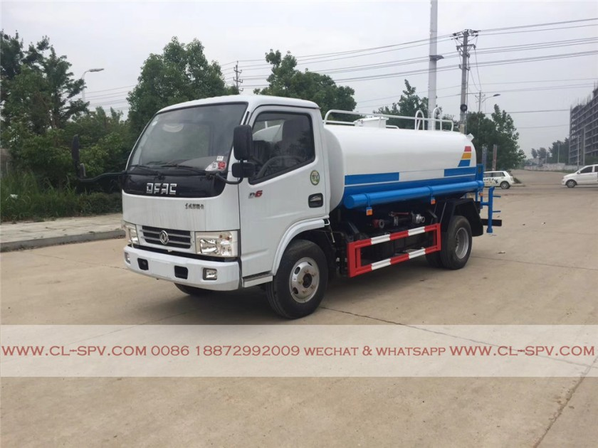 dongfeng 5000 liters water truck 01