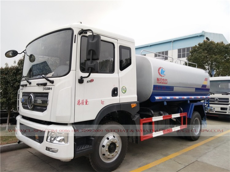 Dongfeng D9 12000 liters water truck 01