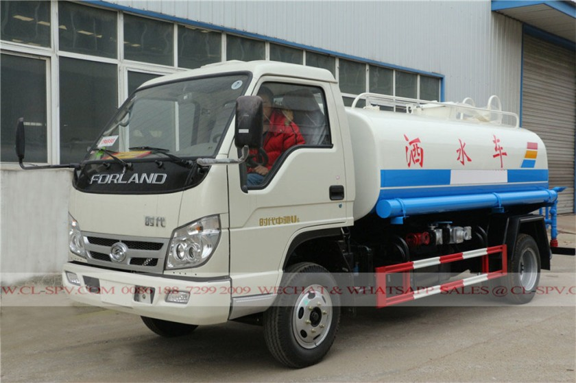 Foton forland 3000 liters water truck 02