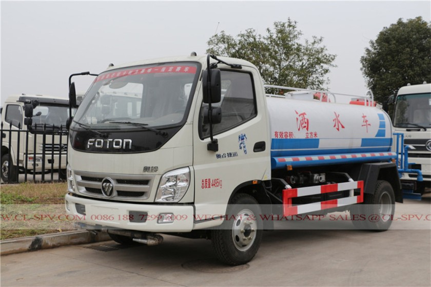 Foton forland 6000 liters water truck 05