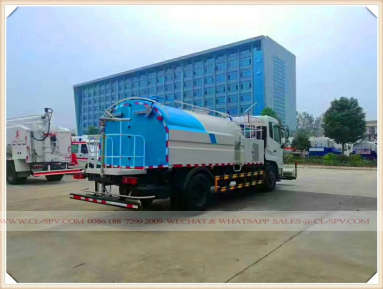 dongfeng high pressue water spraying vehicle 01