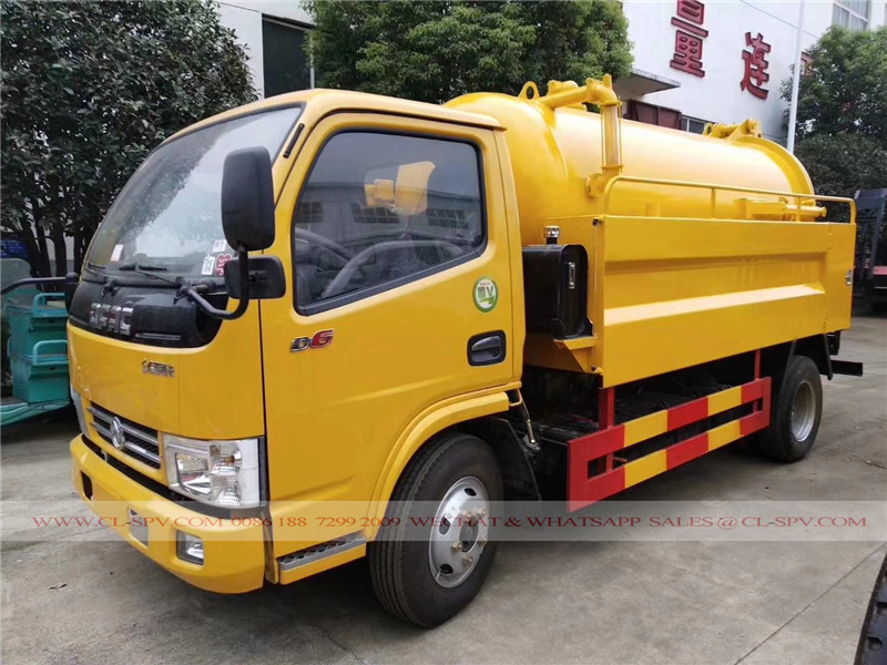 Dongfeng sewage suction and cleaning truck 01