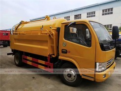 Dongfeng sewage suction and cleaning truck 03