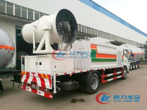 china full hydraulic dust suppression truck (1)