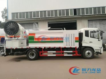china full hydraulic dust suppression truck (10)