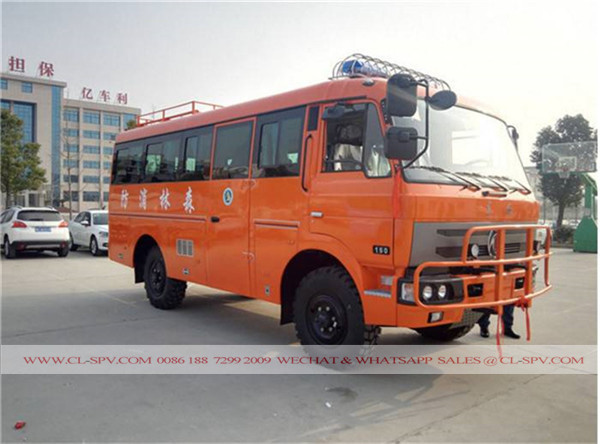 Dongfeng all wheel drive truck 01