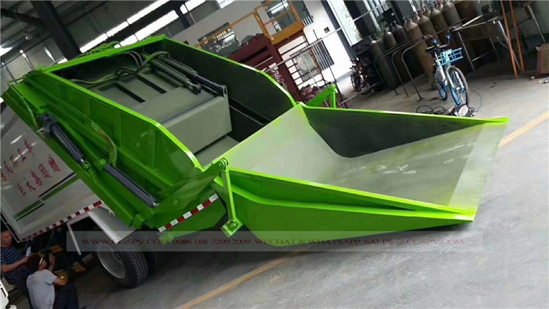 Dongfeng D9 10 cbm garbage compactor truck 09
