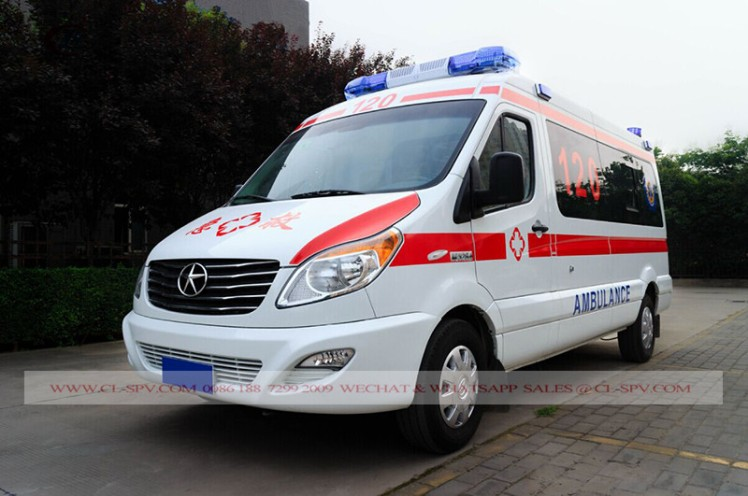 JAC Medical Ambulance truck 03