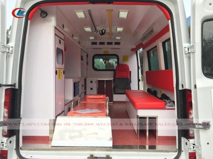 JAC Medical Ambulance truck 05