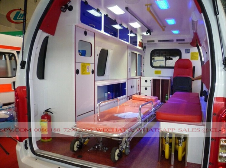 Jinbei Medical Ambulance truck 06