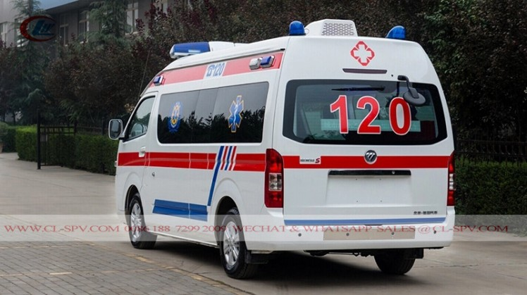 New Foton RHD Petrol ICU Transit Medical Ambulance car (1)