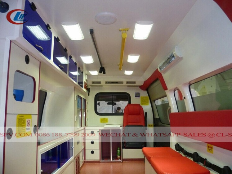 New Foton RHD Petrol ICU Transit Medical Ambulance car (3)