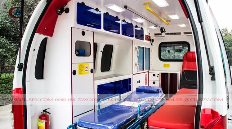 New Foton RHD Petrol ICU Transit Medical Ambulance car (5)