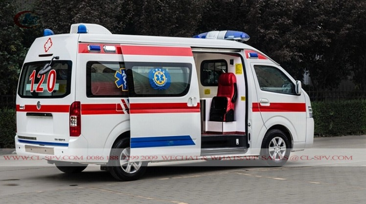 New Foton RHD Petrol ICU Transit Medical Ambulance car (7)