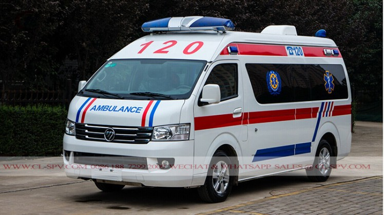 New Foton RHD Petrol ICU Transit Medical Ambulance car (8)