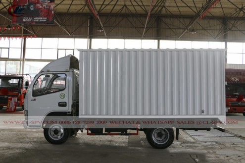 China Dongfeng small van truck 05