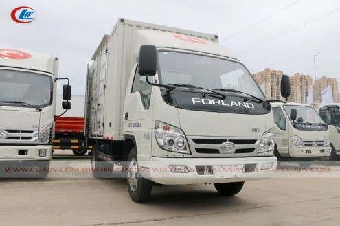 China Foton small van truck 04