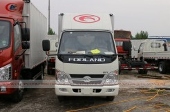 China Foton small van truck 09