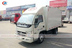 China Foton small van truck 10