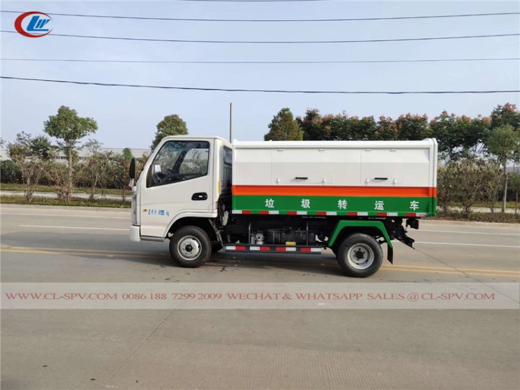 Kaima sealed dump garbage truck