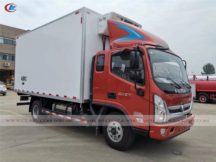 Foton refrigerated truck for sale 01
