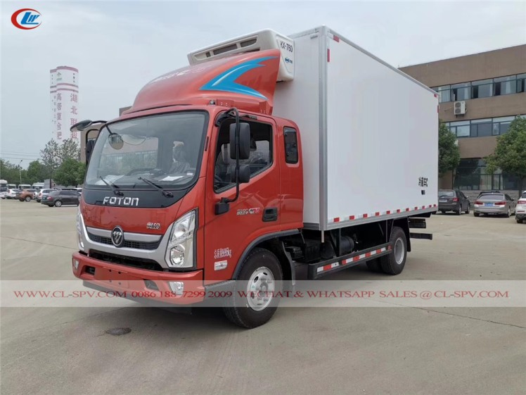 Foton refrigerated truck for sale 02