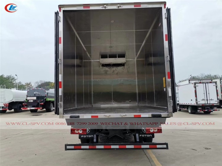 Foton refrigerated truck for sale 09