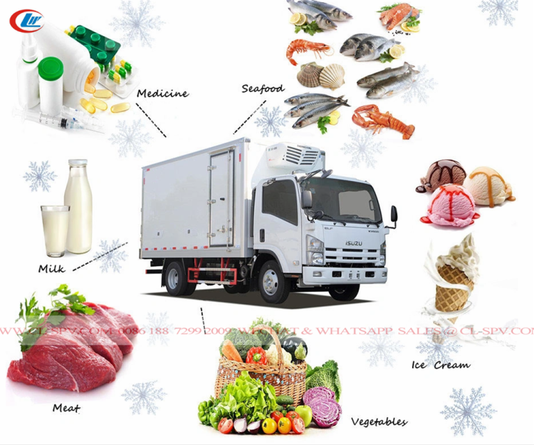 Foton refrigerated truck for sale 11