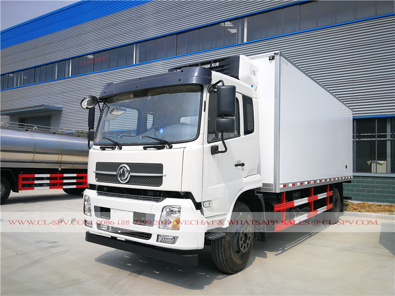 dongfeng refrigerated vehicle