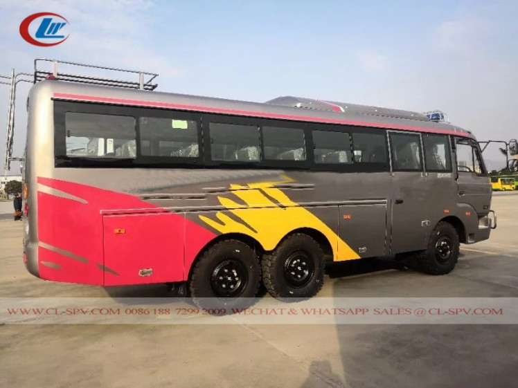 Dongfeng EQ6840PT Off Road Bus 15
