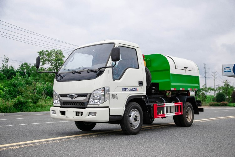 Foton hook arm garbage truck (5)
